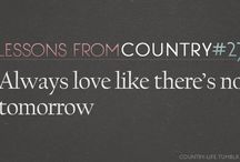 Country<3 / by Jj Worrell