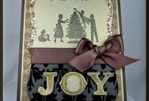 Stampin' Up! -  Christmas Cards / cards made using Stampin UP Stamps / by Sandi MacIver  - Stampin Up