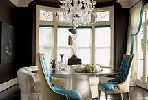 FAVORITE BLACK ROOMS  / Black rooms / by South Shore Decorating