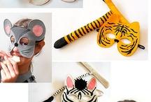 Máscaras y caretas / by Sonia Lozano