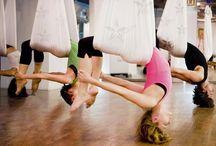 Aerial Fitness / Fly Gym / by Verna File