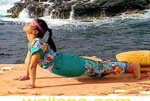 Yoga Asanas / by Wai Lana