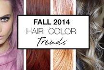Fall Hair Colors / Fall 2014 Hair Color Trends | Fall Hair Colors  / by Organic Salon Systems