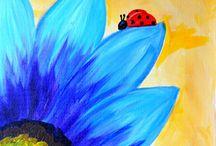 painting ideas / by Jenny Bolick