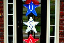 Red, White, & Blue / July 4th, USA, Memorial Day / by Becky Pennington