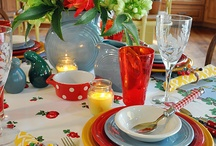 Dinnerware for Everyday & Hutch/Table Setting Ideas.... / by Bridget Capello - Iovino