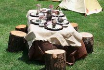 Camping Birthday Party Ideas / by Miranda Holman
