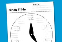 Worksheets for the kiddos / by Julee Irish