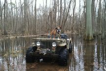 Jeeps and Dogs / by Kaiser Willys Auto Supply