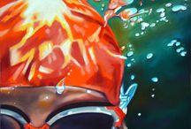 Summer Swimming / by Artfinder