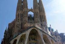 Living List - Visit the Sagrada Família in Barcelona / Pictures and information about Sagrada Família  (and Spain)  My Living List #livinglist can be seen here: http://miscmum.com/living-list/ / by Karen Andrews