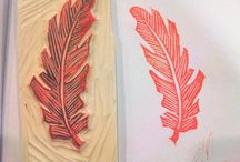 HAND CARVED STAMPS / by Lucy @ Patina Paradise