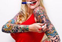 ღ *´¯`*✿ Rockabilly~Tattoo~Glamour ✿ *´¯`*ღ / by Deena Leigh