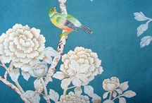 blue and green chinoiserie / by Anita Hutchison