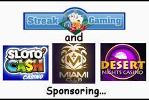 Streak Casino Contests & Exclusive Slot Tournaments / by Streak Gaming