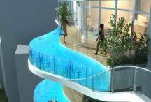 Pools / by Aqua Decor & Design
