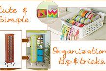 Get Organized / by Jessica Smith