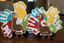 Thanksgiving crafts / by Paige Steel