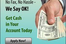 It Is Easy To Apply For A Loan / by AllCityPayday Loan