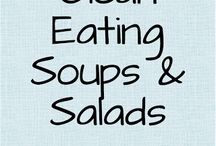 Eat Clean Soup and Salad Recipes / by He and She Eat Clean