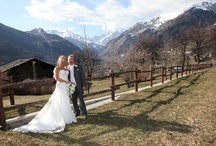 Italian Alps and Winter Weddings / Ideas for a wedding in the Alps / by Bonnie Marie