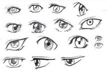 Olhos Mangá ♥ / by Kaah Chan