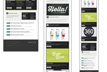 responsive email / by Louise Torp
