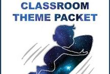 Classroom - theme: Space / by Kelly Davis
