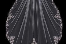 Fingertip Bridal Veils / Bridal veils from Cassandra Lynne that are fingertip length. / by Cassandra Lynne