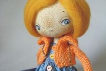 muñecas de trapo / by Sonia Poveda
