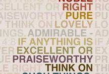 Words or wisdom / by Rebekah Brown