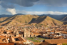 """Cuzco, Perú / The archaeological crown jewel of the Americas, Cusco (also Cuzco, from the Quechua """"Qosq'o"""") offers dizzying attractions that have made it a rightful bearer of a UNESCO World Heritage honor. South America's oldest continuously inhabited city, Cusco is where you can find modern descendants of the ancient Inca. But before the mighty rulers that built the Machu Picchu came to power, Cusco was already settled by the Killke civilization whose reminders still stand today in Sacsayhuaman. / by Urbita (www.urbita.com) - I love this place!"""
