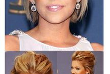 hairstyles for weddings/events / by Lori Garrard