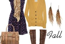 Fall Fashion & Winter Wardrobe / by Nikki Netland