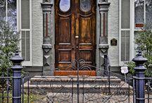 doors... / by {daphne} flip flops pearls & wine