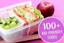 healthy food 4 kiddos / by Gina Anderson