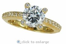 Cubic Zirconia Jewelry / Ziamond Cubic Zirconia CZ Jewelers features the finest hand cut and hand polished original Russian formula cubic zirconia set in 14k gold, 18k gold and platinum mountings. / by Ziamond Cubic Zirconia Jewelry