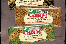 Cabot Farmers' Legacy Recipes / Three all new cheddar flavors that celebrate the classic European cheesemaking traditions. Distinctive from our traditional, award-winning sharp cheddars, this collection marries sharpness only obtained by natural aging plus hints of their countries of origin. We've selected 3 flavor profiles — each with a unique taste proudly presented by the 1,200 farm families who own Cabot. http://www.cabotcheese.coop/legacy / by Cabot Cheese