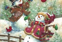 Snowmen / by Gwen's Paper Expressions