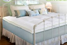 Top It Off - Bed Toppers & Pads / Add that extra inch - or more - of comfort to your bed! Perfect for dorms / by OCM On Campus