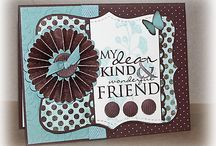 Cards SU-Top Note / This is a die cut shape that will never go out of style / by Sharon Frees