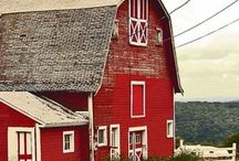 Barns / by Linda Carr