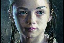 Arya Stark / by Daiva Channing