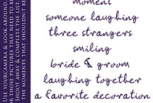 Oh wedding ideas for friends / by Lorie B