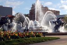 Kansas City / Plaza, Fountains, & much more / by Dana Fox