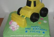 Digger Cake ideas  / by Terri Henry