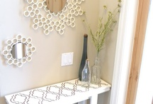 Tiny Entryway Ideas / by Vanessa Bui