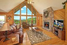 Log Houses/Cabins / by Lisa Pettigrew