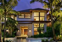 Tropical Homes / by Silk & Whiskey