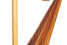 Harpist Hire / Big Time Entertainment have some great Harpists for hire  Harpists are very popular for Hotel Entertainment, Weddings etc / by Big Time Entertainment Limited UK